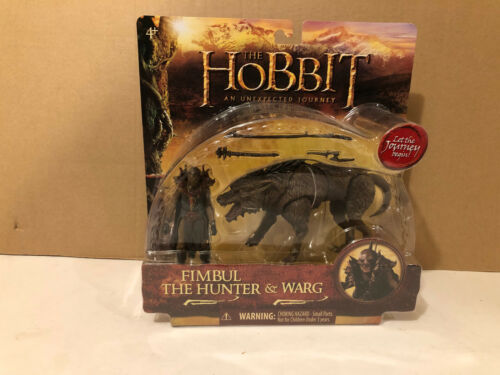 Fimbul the hunter & Warg from The Hobbit an Unexpected Journey Action Figure