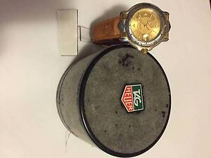 TAG HEUER 6000 Series Professional 200m Watch with Solid 18K Gold Dandenong Greater Dandenong Preview