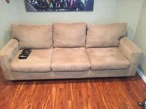 Sectional/chaise couch, very good condition!
