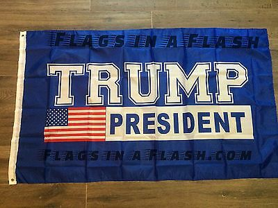 10 PRESIDENT TRUMP INAUGURATION FLAGS FLAG MAKE AMERICA GREAT AGAIN USA  DONALD