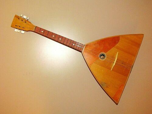 Vintage Chernihiv Balalaika 3 string named after Pavel Postyshev N-5