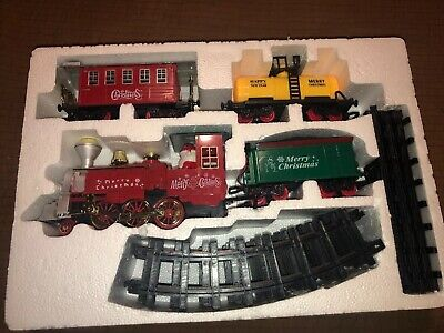 New PREXTEX Christmas Train Set Around The Tree Music & Lights