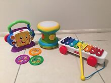 Fisher Price Xylophone, CD player, Flash beat drum Kellyville The Hills District Preview