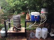 Home brew system for sale, 3 vessel, all-grain Travancore Moonee Valley Preview