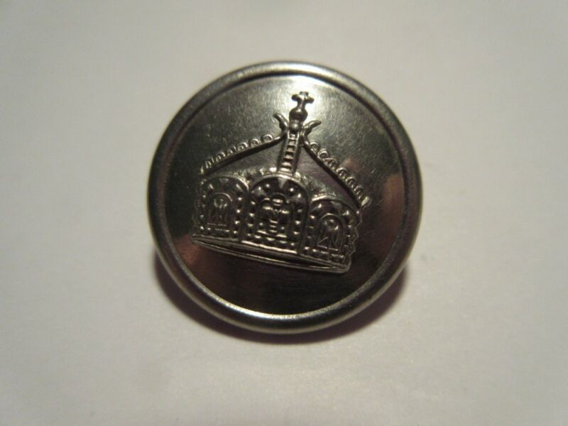 Vtg.~ WW1 Germany-Imp. Silver/Bs Tunic Button-Von Tippelskiach & Co.-Berlin-Rare