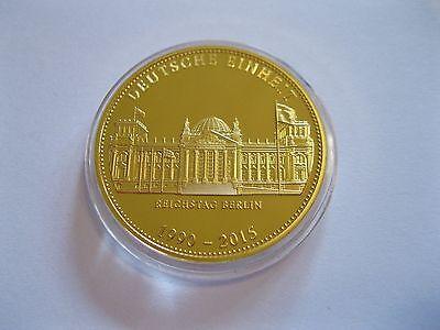 """Medaille  """"Deutsche Einheit""""  PP  in Münzkapsel"""