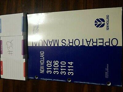 New Holland 3102 3106 3110 3114 Manure Spreader Operators Manual 397 Original