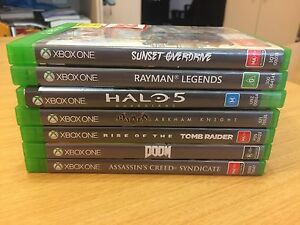 Bunch of xbox one games Seven Hills Brisbane South East Preview