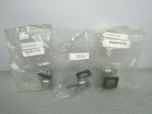OMAL R432013730 Solenoid Connector Lot of 3