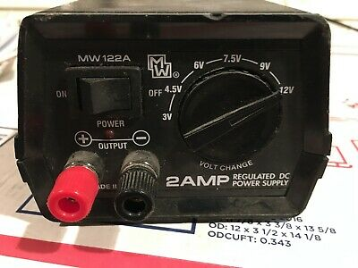 2 Amp Regulated Dc Power Supply Mw 122a