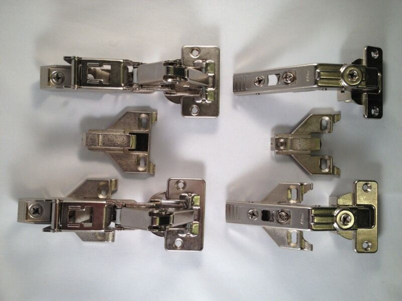 Blum Lazy Susan Bi-Fold Cabinet Doors Hardware Package