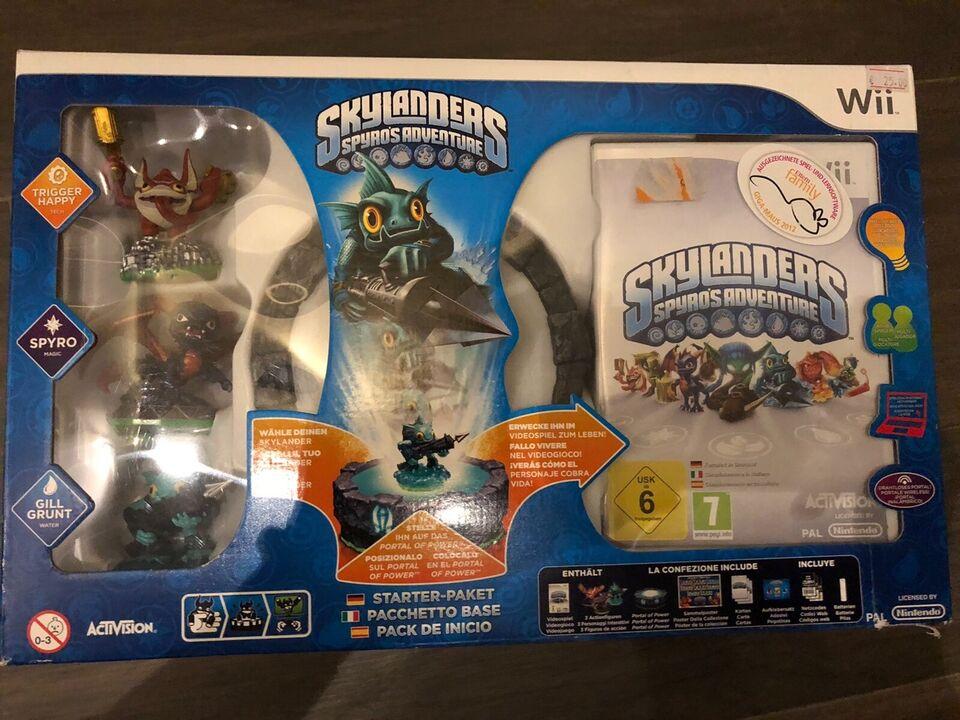 Wii Skylanders Spyro's Adventure Starter Pack inklusive 3 Figuren in Sachsen-Anhalt - Halle