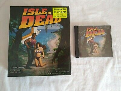 Isle of the Dead Big Box PC CD ROM Game -Retro Vintage Rare -1994 Junkyard Games for sale  Shipping to Nigeria