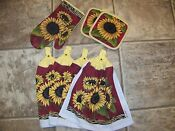 Kitchen Towel Pot Holder Set