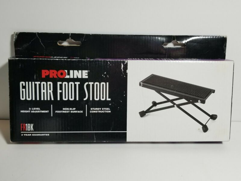 Proline Guitar Foot Stool FR1BK VGC