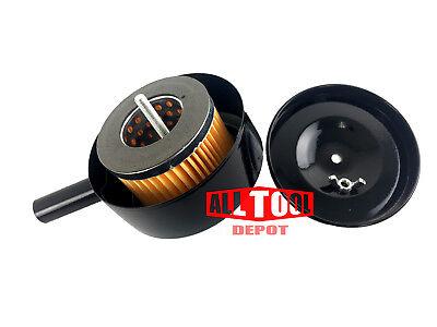Replacement Filter Cartridge For Air Compressor Pump Air Intake Head 12 Thread