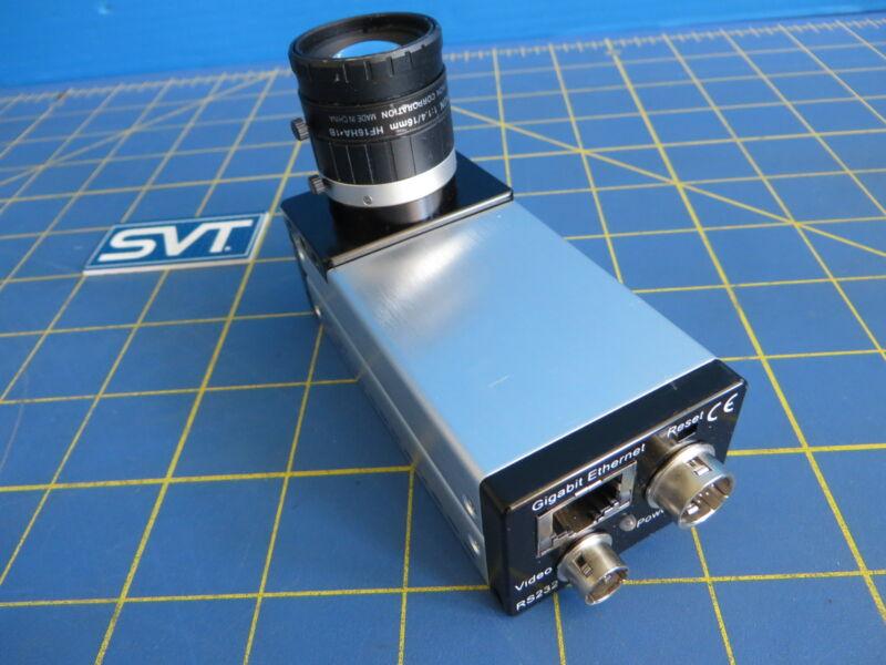 Leutron Vision P83M-Smart502-AR-H GigE Industrial Camera  w/ Fujinon HF16HA-1B