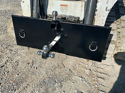 Skid Steer Quick Tach Trailer Mover