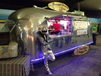 Vintage Airstream Food & Promo Van For Sale with Equipment