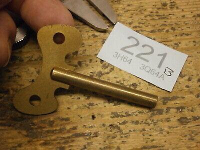 Schatz Clock KEY 4mm Square Original for Royal Mariner Ships Bell Clocks 8 Bells