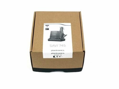 Plantronics PL-86507-21 Savi W745 Phone Office Wireless Cordless Headset