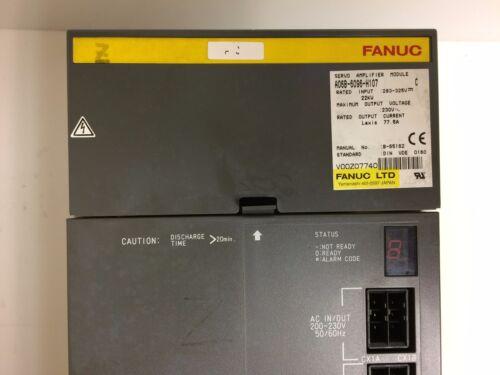 Fanuc Servo Amplifier A06b-6096-h107 Fully Refurbished!!! Exchange Only
