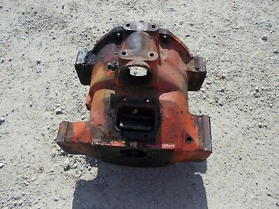 Allis Wd Styled Wc Tractor Nice Original Ac Bell Housing Good Starter Hole
