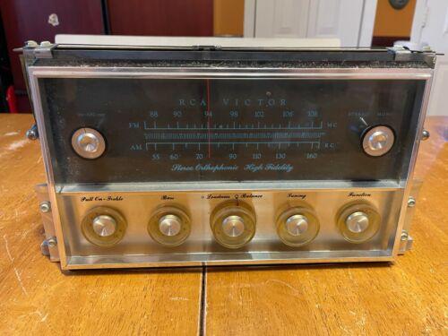 "VINTAGE RCA Victor ""Stereo Orthophonic High Fidelity"" 6BQ5 Tube receiver"