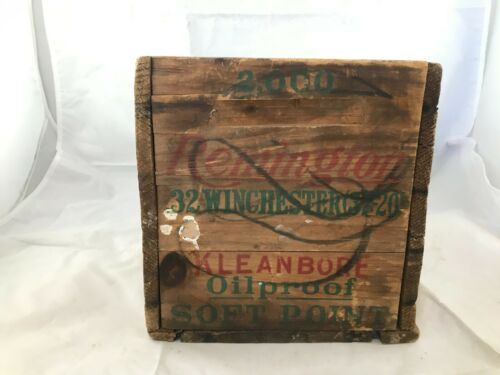vintage Remington Arms Company Bridgeport, Conn shell box Made in U.S.A.