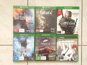 Xbox One Games, Good Condition Ashtonfield Maitland Area Preview