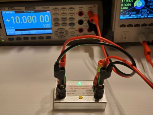 10V Volt DC Precision Reference Voltage Standard 10.0000v