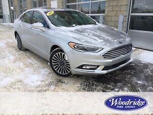 2017 Ford Fusion SE LEATHER HEATED SEATS, REVERSE CAMERA, NAV...