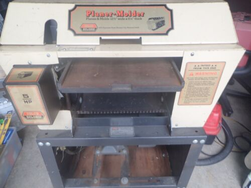 FOLEY BELSAW 984 PLANER MOLDER, SAW ATTACHMENT AND VACUUM