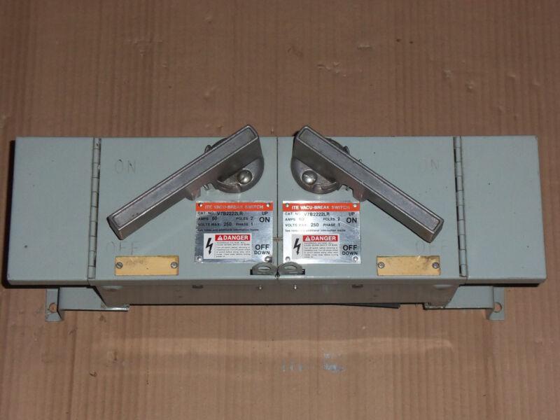New Ite Siemens V7b V7b2222lr 60 Amp 240v Fused Panel Panelboard Switch