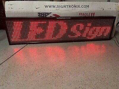 Signtronix Led Programmable Sign