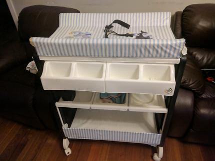 Baby Change Table Bath Table Combo