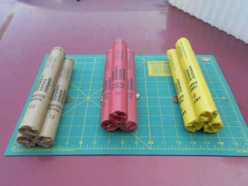 Lot of 3 Fake INERT PVC Covered DYNAMITE / TNT stick Props