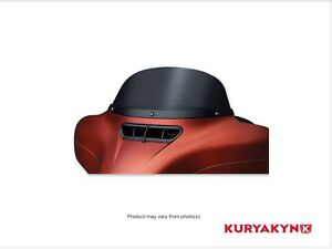 "kuryakyn Air master Dark Smoke 7"" HD Batwing fairing Wind Shield"