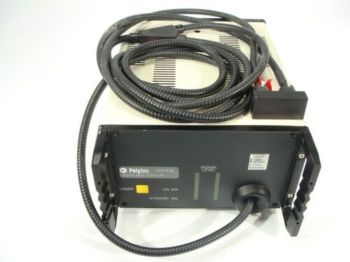 Polytec Fiber Interferometer Laser Doppler Vibrometer RVA Sensor Model OFV-518