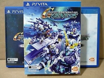 PS Vita - SD Gundam G Generation Genesis