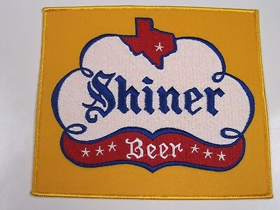 BEER PATCH SHINER BEER PATCH LOOK AND BUY! LARGE BACK SIZE SIZE!!!*