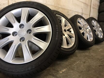 Honda Jazz Wheels And Tyres 15 Inch Genuine Used