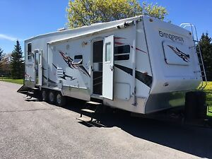 2008 Forest river Sandpiper 31ft Toy Hauler