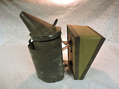 Vintage Dadant Sons Bee Smoker - Leather Bellows