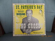 Decca Records Bing Crosby