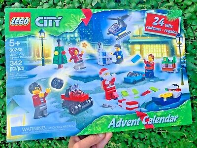 LEGO City Advent Calendar 60268, With City Play Mat *New* Ships Now