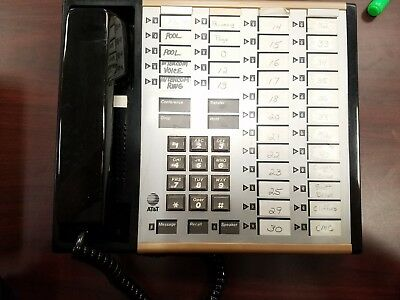 Att Merlin 34 7305h02d 34-button Office Business Phone
