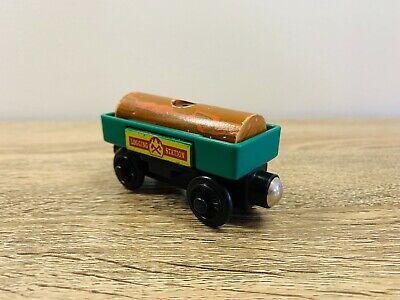 Log Car Popping Cargo - Thomas the Tank Engine & Friends Wooden Railway Trains