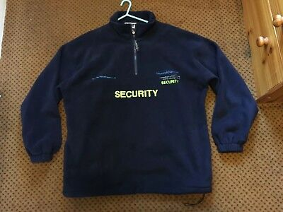 Security / Door Supervisor Fleece Jacket (XXL) Uniform - Costume - Prop