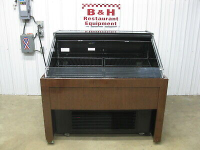Hussmann Q2-ss-n-4-s Open Air Deli Produce Berry Display Case Refrigerator